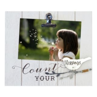 """New View """"Blessings"""" Photo Clip Frame"""