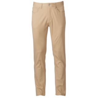Men's PLUGG 5-Pocket Stretch Twill COMFORT FLEX Waistband Pants