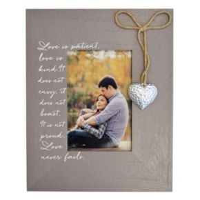 """New View """"Love Is Patient"""" 3.5"""" x 5.5"""" Frame"""