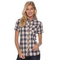Women's Woolrich Tall Pine Seersucker Plaid Shirt