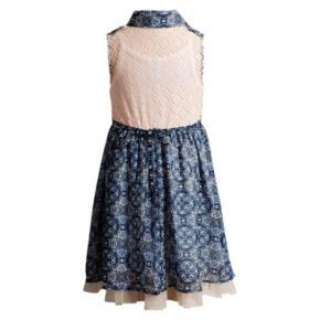 Girls 4-6x Youngland Collared Paisley Dress
