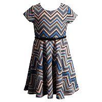 Girls 4-6x Youngland Chevron Fashion Dress