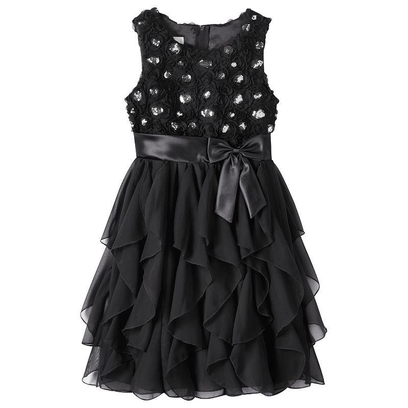 Girls 7-16 & Plus Size American Princess Corkscrew Dress, Girl's, Size: 10, Oxford