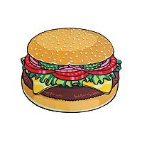 BigMouth Inc. Gigantic Burger Beach Blanket