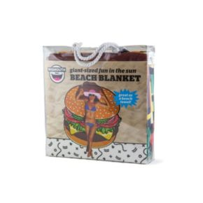 BigMouth Inc. Gigantic Burger Beach Blanket