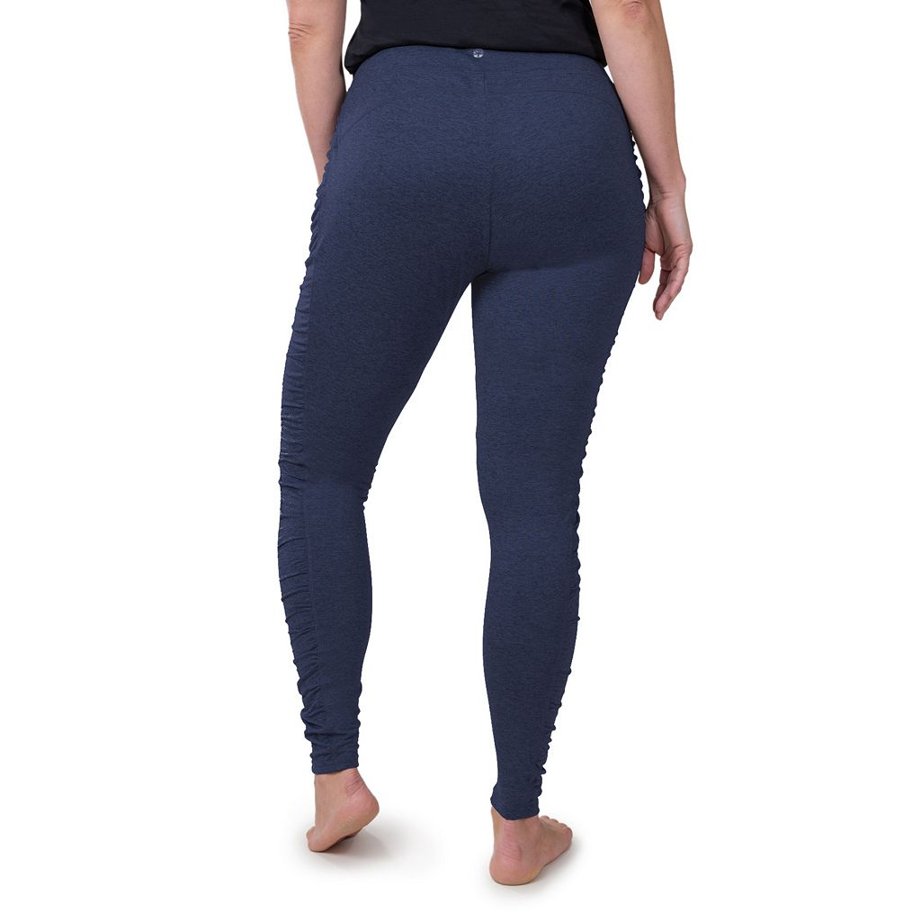 Plus Size Soybu Talia Ruched Yoga Leggings