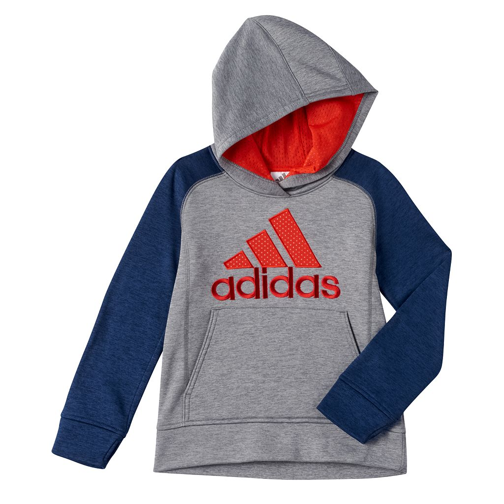Toddler Boy adidas Raglan Space-Dyed Hoodie