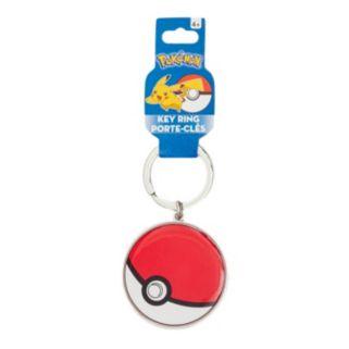 Kids Pokemon Pokeball Metal Key Chain