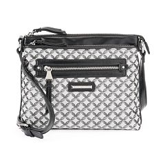 Dana Buchman Gracie Signature Crossbody Bag