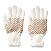 Women's SONOMA Goods for Life™ Diamond Stitch Gloves