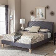 Baxton Studio Fannie French Classic Modern Platform Bed