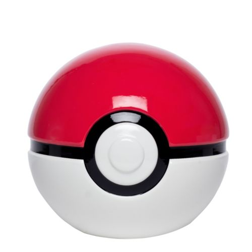 Kids Pokemon Pokeball Ceramic Bank