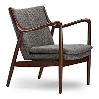 Baxton Studio Shakespeare Accent Chair