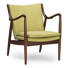 Baxton Studio Shakespeare Accent Chair