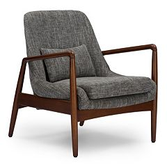Baxton Studio Carter Accent Chair by