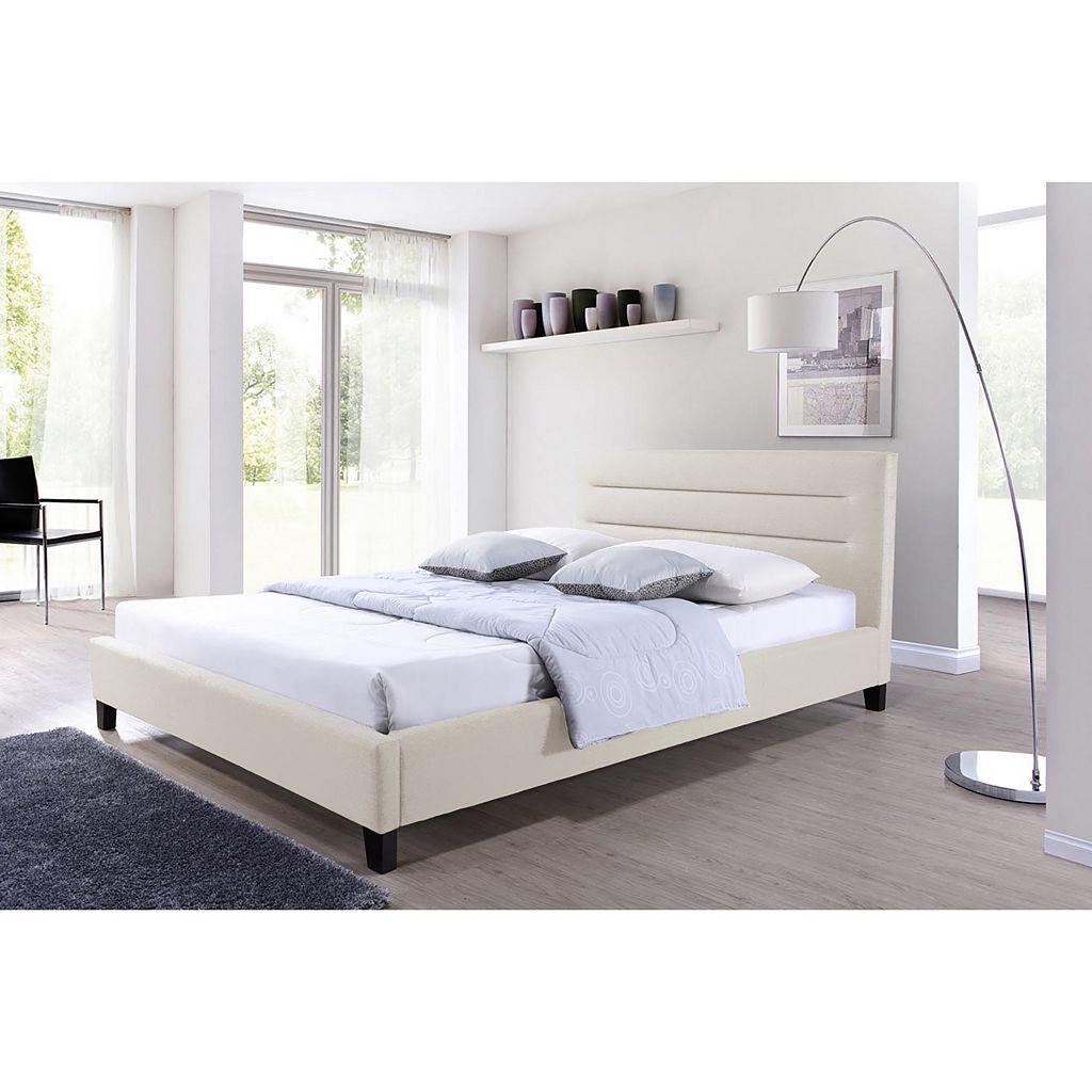 Baxton Studio Hillary Platform Bed