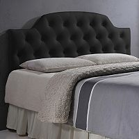 Baxton Studio Faux Leather Morris Headboard