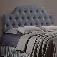 Baxton Studio Morris Scalloped Headboard