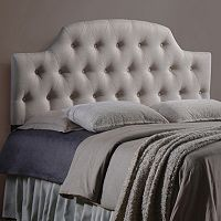 Baxton Studio Morris Scalloped Tufted Headboard