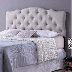 Baxton Studio Rita Scalloped Headboard