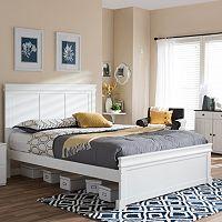 Baxton Studio Amber Platform Bed