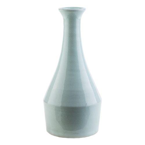 Decor 140 Achid 13″ x 5″ Seafoam Blue Vase