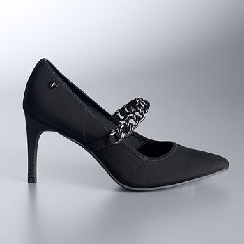 Vera Wang Metallic Leather Pointed-Toe Pumps Online Shop Cheap From China Cheap Extremely Official Sale Online Cheapest Price Cheap Online 2mhCr4c