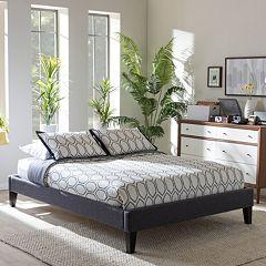Baxton Studio Lancashire Upholstered Bed Frame