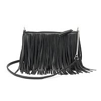 Candie's® Kristina Fringe Mini Crossbody Bag