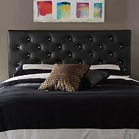 Baxton Studio Viviana Faux-Leather Headboard