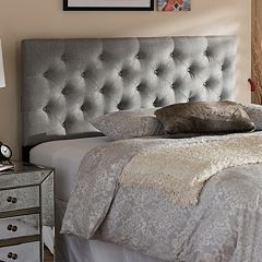 Baxton Studio Viviana Tufted Upholstered Headboard