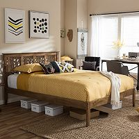 Baxton Studio Trina Tree Branch Platform Bed