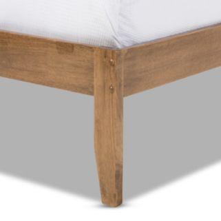 Baxton Studio Trina Tree Branch Platform Bed