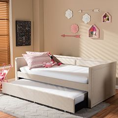 Baxton Studio Raymond Twin Daybed & Trundle