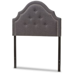 Baxton Studio Cora Button Tufted Upholstered Headboard