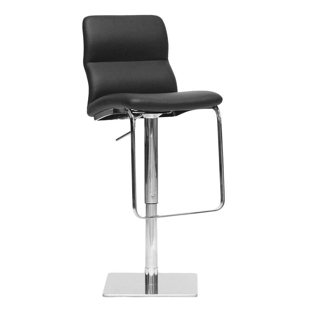 Baxton Studio Helsinki Adjustable Bar Stool