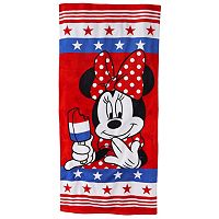 Disney's Minnie Mouse American Beach Towel by Jumping Beans®