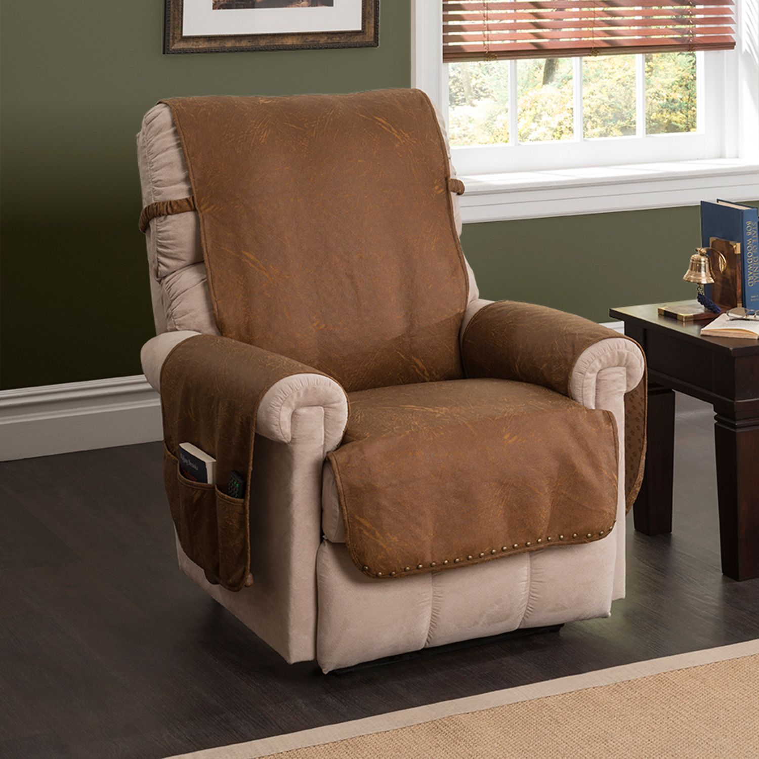 Innovative Textile Solutions Faux Leather Memory Foam Recliner Protector & Slipcovers u0026 Furniture Protectors Home Decor | Kohlu0027s islam-shia.org