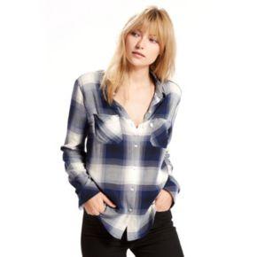Women's Levi's Workwear Plaid Boyfriend Shirt