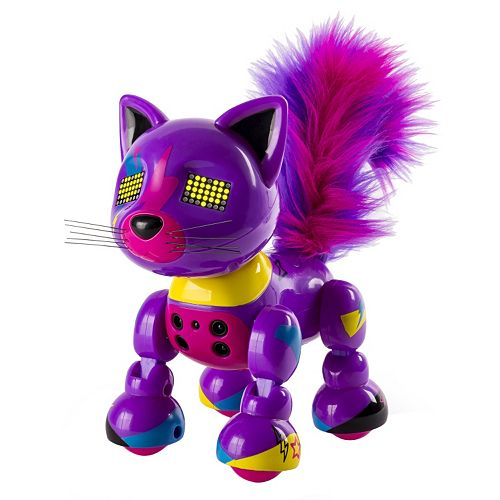 Robot Cat Toy >> Zoomer Meowzies Lucky Robotic Cat By Spin Master