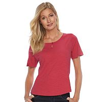 Women's Woolrich Bell Canyon Keyhole Tee