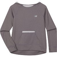 Girls 4-6x New Balance Athletic-Fit Hooded Pullover Performance Tee