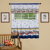 Achim 3-piece Fruity Tiles Window Set