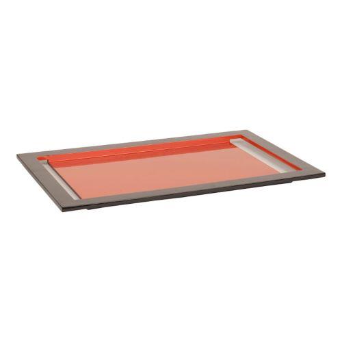 Decor 140 Locatax Orange Decorative Tray