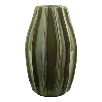 Decor 140 Losarala Abstract Striped Ceramic Vase