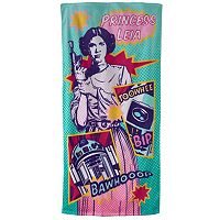 Star Wars Leia Beach Towel
