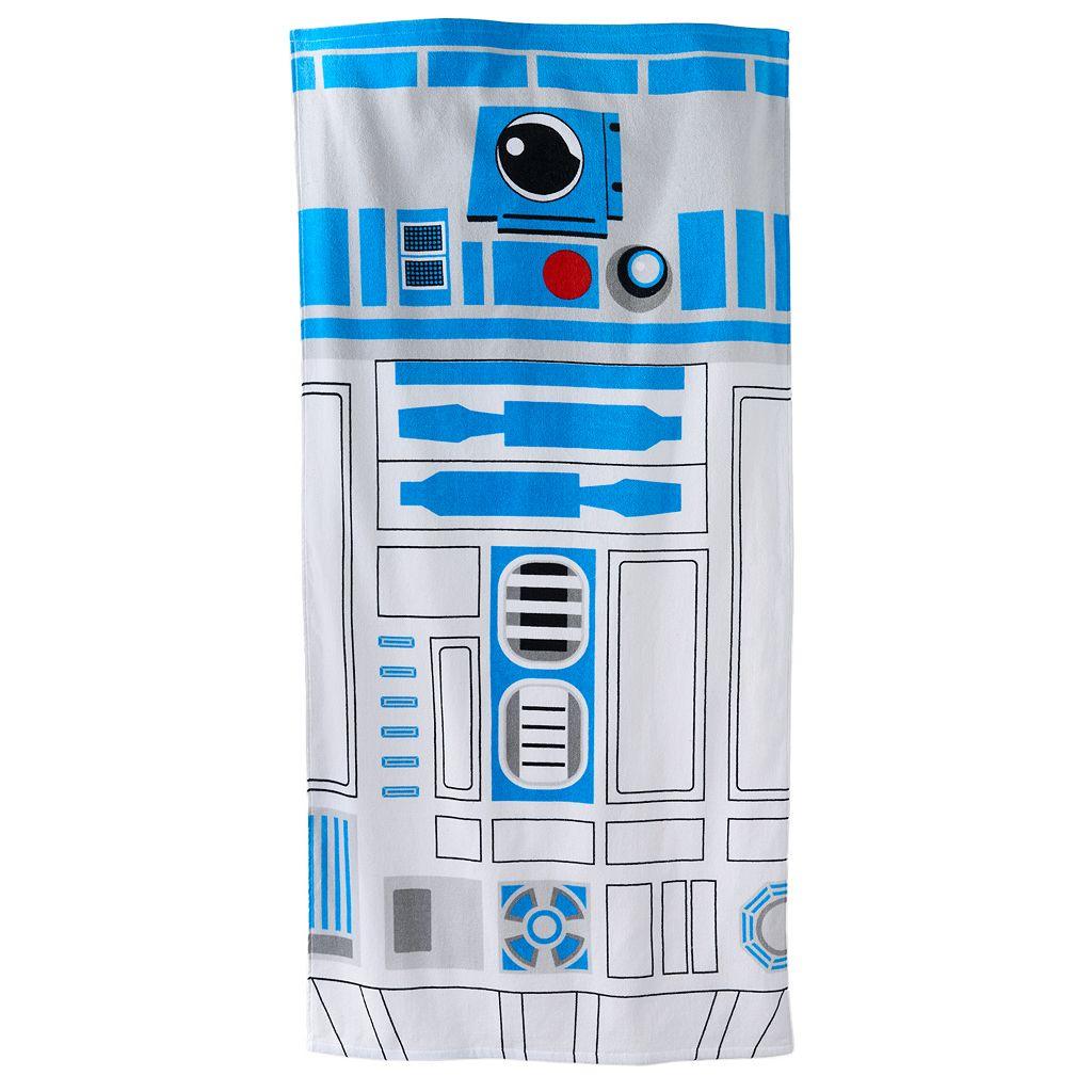 Star Wars R2D2 Beach Towel