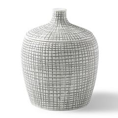 Kassatex Raffia Cotton Jar