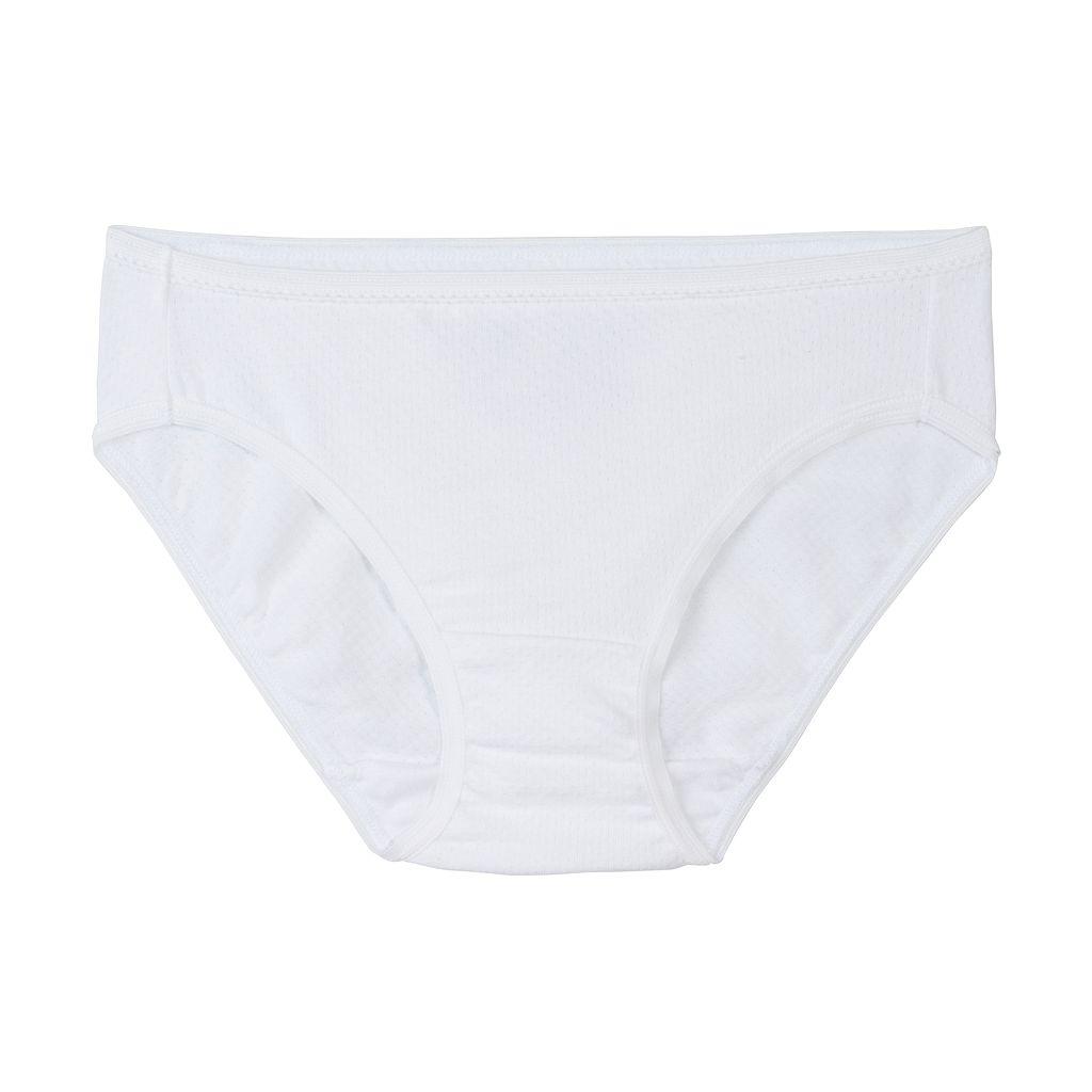 Girls 6-16 Fruit of the Loom 5-pk. Signature Breathable Bikini Panties