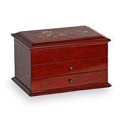 Mele & Co. Brayden Wooden Jewelry Box